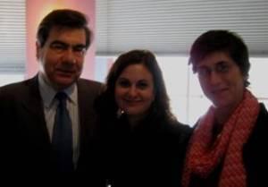 Enrique Rorad, Natalia Catalana Dupoy, and Linda Nathan