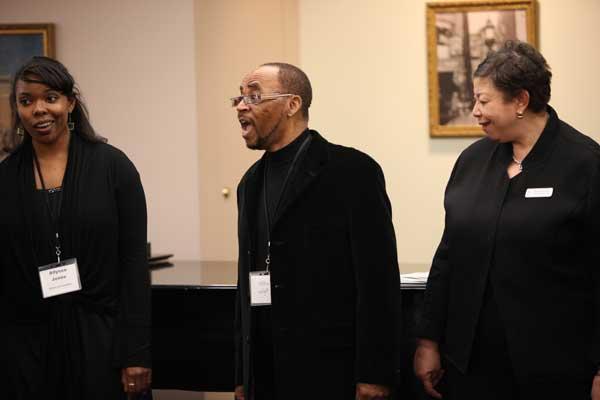 Allyssa Jones, Milton Wright and Myran Parker-Brass