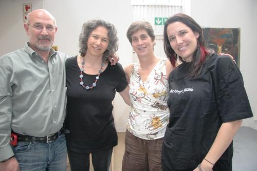 Ramiro Gonzalez (BAA), Kim Berman (APS), myself, and Monika Aldarondo (BAA)