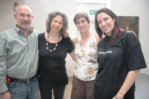 Ramiro Gonzalez (BAA), Kim Berman (APS), myself, and Monika Aldarondo (BAA)